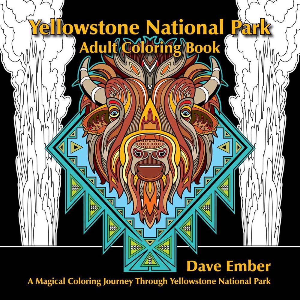 National Park Coloring Books – Great for Both Junior and Not-So-Junior Rangers!