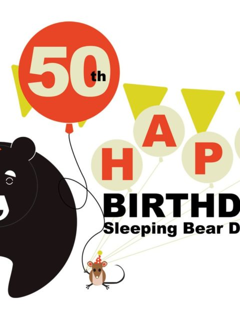 Hey Junior Rangers! Celebrate Sleeping Bear Dunes National Lakeshore's 50th Birthday with This AWESOME New Junior Ranger Badge!