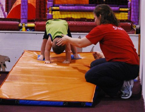 Homeschoolers homeschooling family adventure things to do with kids indoor fun toddler gymnastics play smiles per gallon spgfan