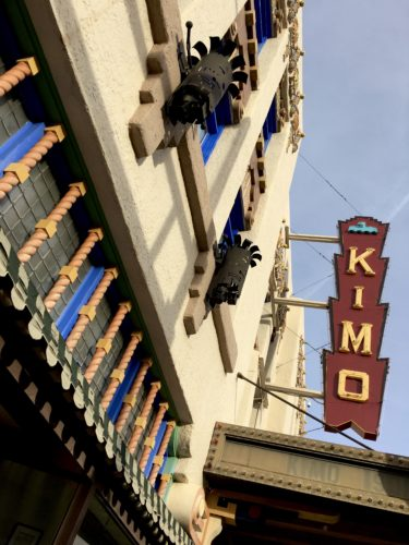 Homeschoolers homeschooling family travel adventure things to do with kids teens albuquerque new mexico nm history culture downtown KiMo Theatre Old Theatres theaters historical landmarks national register historic places pueblo art deco architecture spgfan smiles per gallon