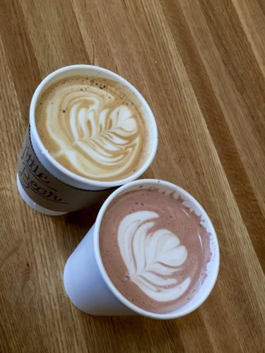 Homeschoolers homeschooling family adventure things to do with kids teens albuquerque new mexico nm sweet treats hot drinks coffee espresso coffee shops cafes food drinks pourover latte art cocoa hot chocolate little bear spgfan smiles per gallon