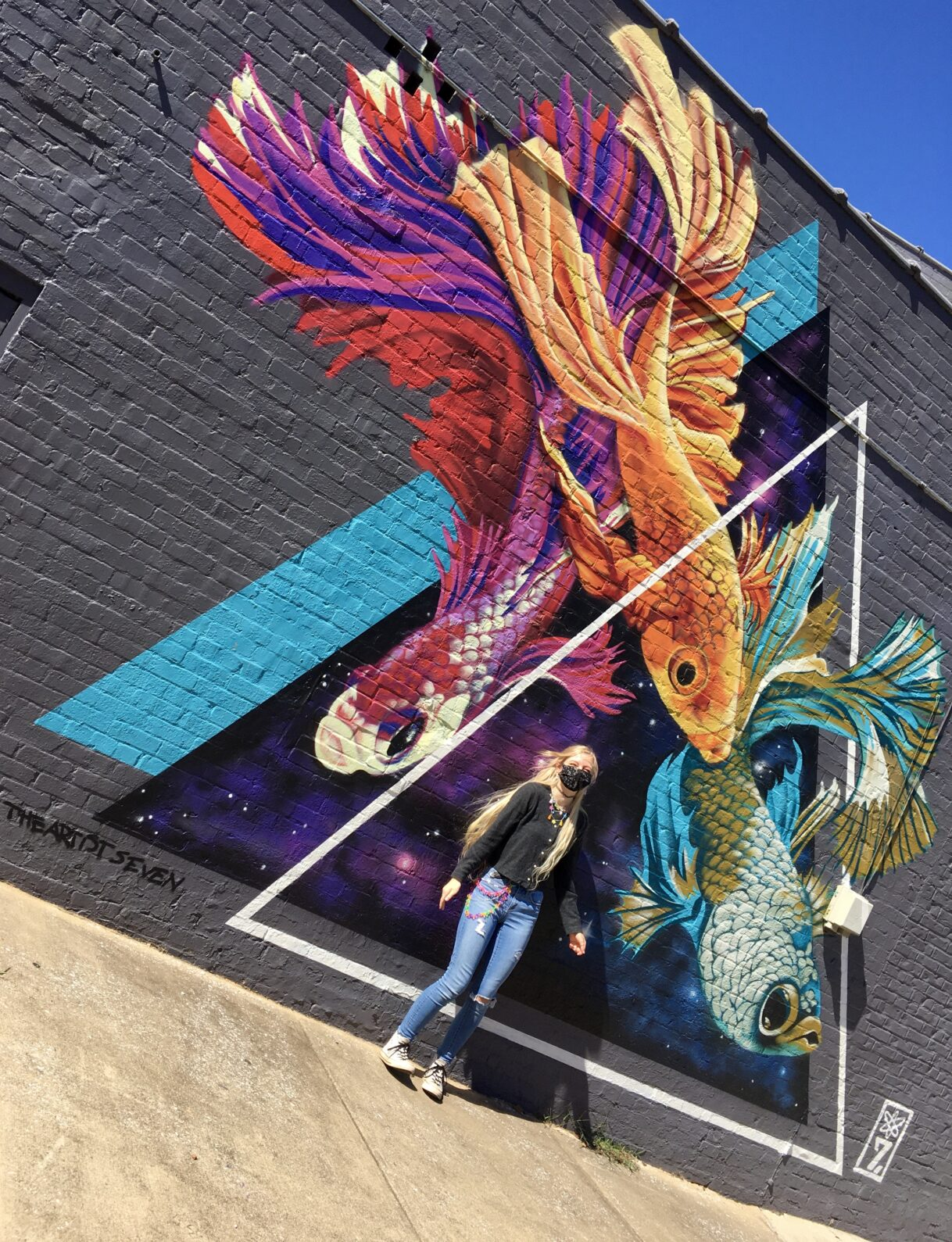 Dimensional Evolution by The Artist Seven – Chattanooga, Tennessee – 10/14/2020