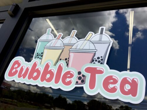 Homeschoolers homeschooling family travel adventure things to do with kids teens cookeville tn tennessee boba tea bubble tea asian food drinks sweet boba cafe orange coconut taro shrimp spring rolls spgfan smiles per gallon