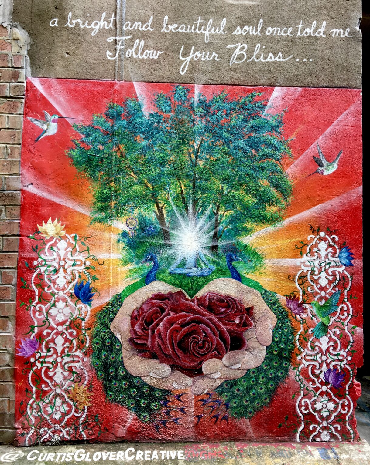 Follow Your Bliss by Curtis Glover – Strong Alley – Knoxville, Tennessee – 10/29/2020