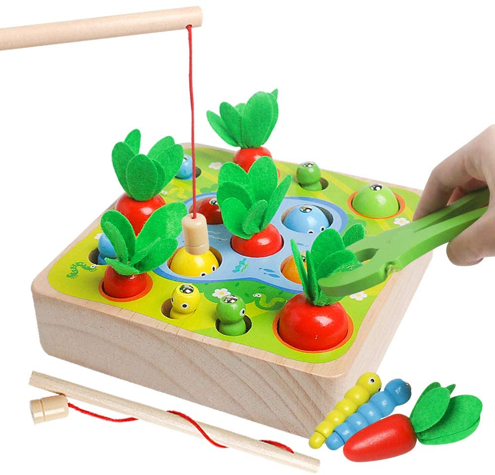 Life's a Garden Dig It: Carrot Harvest 3 in 1 Shape and Size Sorting Game