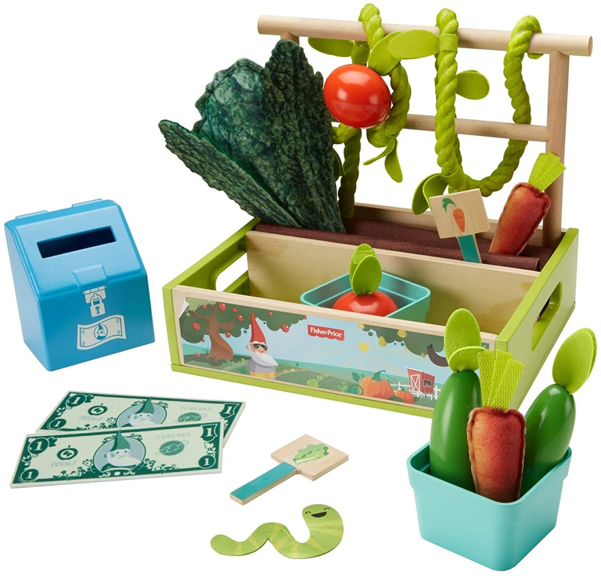 Life's a Garden Dig It: Fisher-Price Farm-to-Market Stand