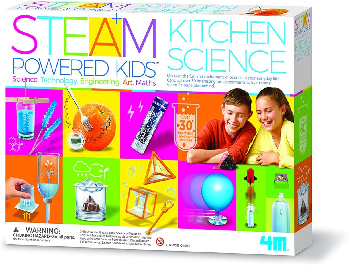 Kitchen Science: 4M Steam Powered Kids Kitchen Science Kit