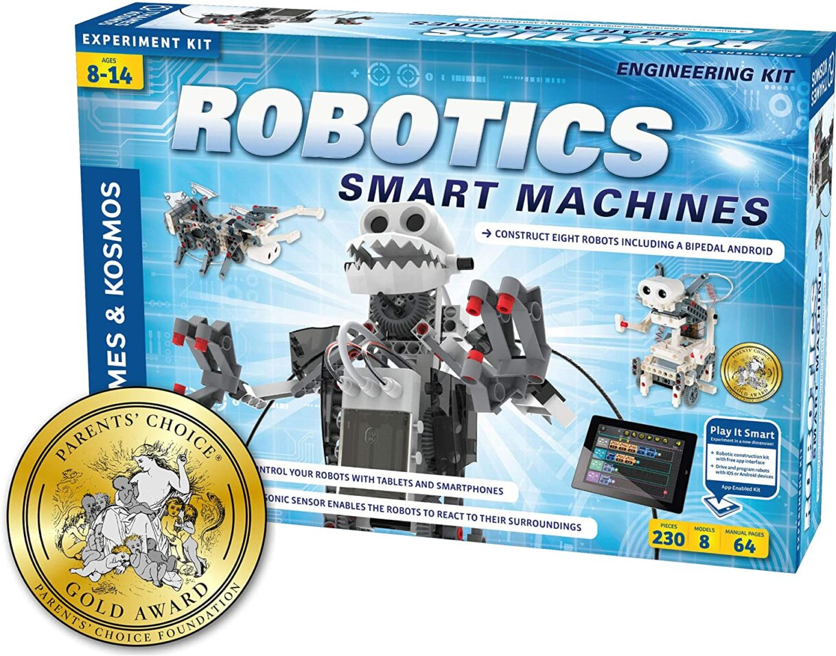 Robotics: Thames & Kosmos Robotics – Smart Machines Science Kit