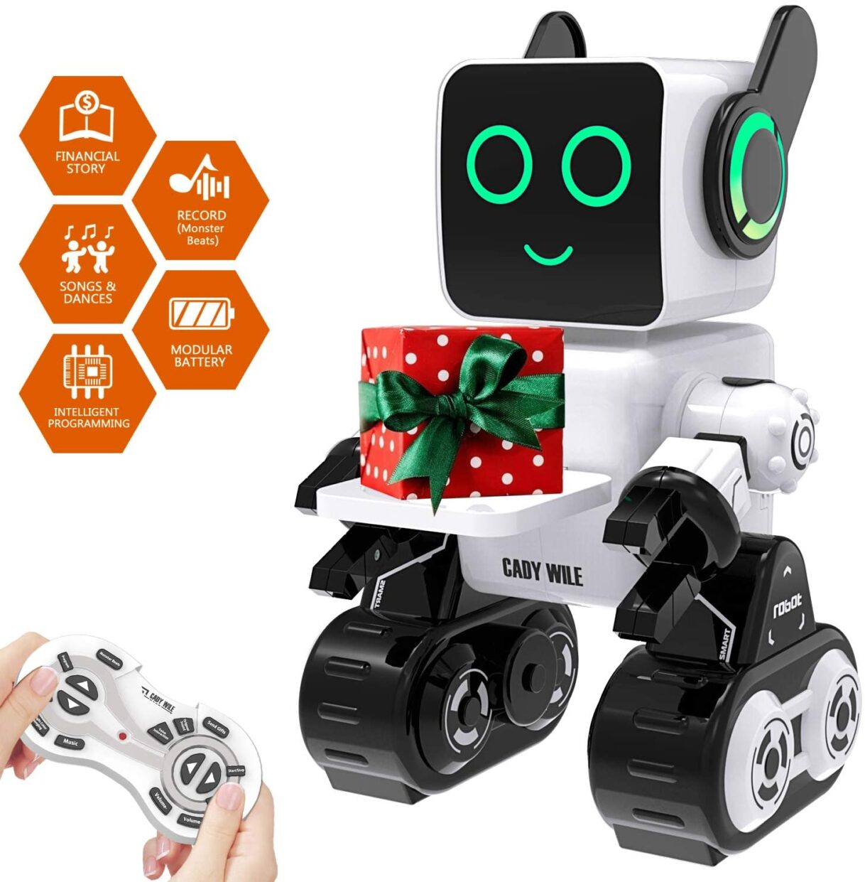 Robotics: Cady Wile Smart STEM Remote Control Robot Toy for Kids