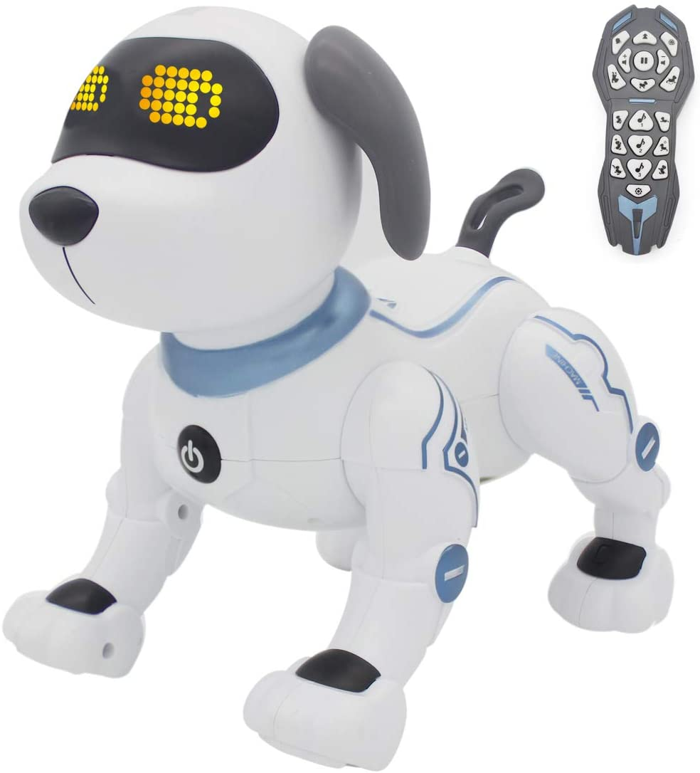 Robotics: fisca Remote Control Robotic Stunt Dog