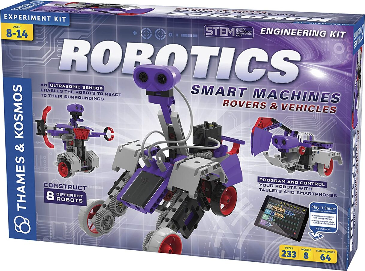 Robotics: Thames & Kosmos Robotics – Smart Machines Rovers and Vehicles