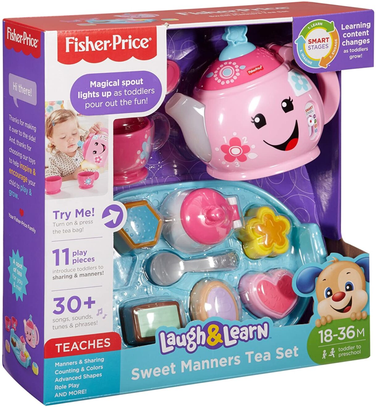 Tea Party Hard: Fisher-Price Laugh & Learn Sweet Manners Tea Set