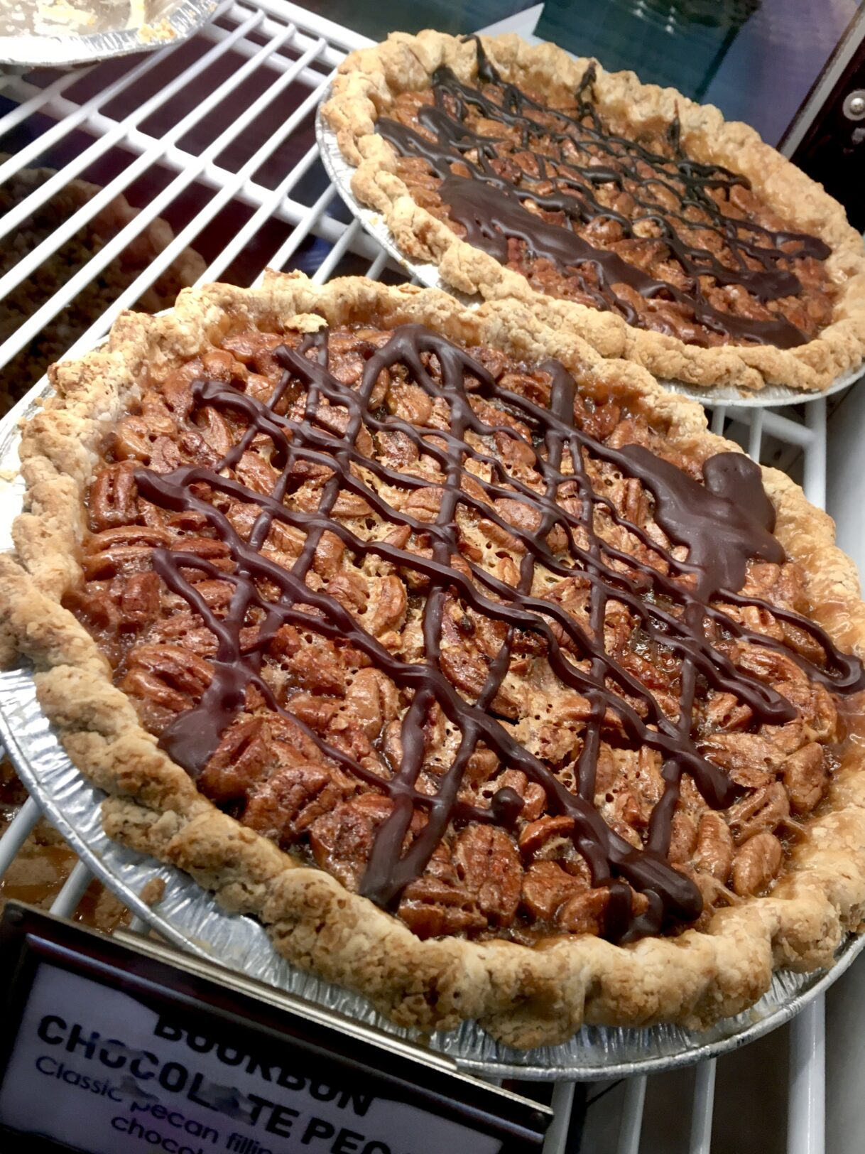 Bourbon Chocolate Pecan Pie at Pie Bar – Woodstock, Georgia – 12/05/2020