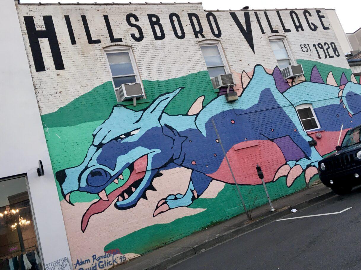 A Walk Around Hillsboro Village – Nashville, Tennessee – 01/26/2021