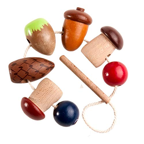 Forest Wealth Wooden Lacing Toy Set by WoodStoreGifts